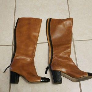 Steven by Steve Madden knee high heel boots